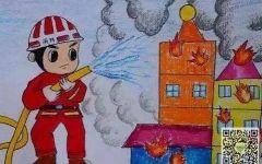 安全消防的画
