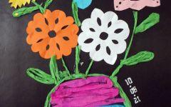 儿童手工创意画