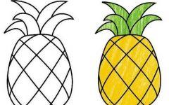 简单幼儿水果画