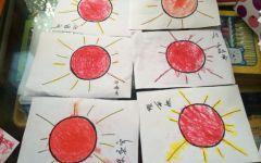 小班画太阳