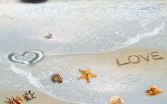 海滩浪漫图片
