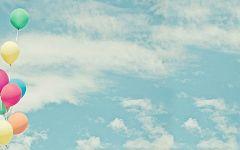 浪漫气球图片