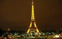 法国浪漫风景图