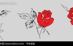 手绘浪漫图画