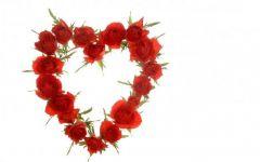 浪漫心形花图片
