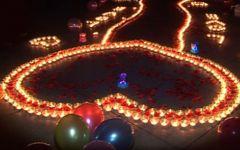 蜡烛浪漫图