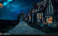 黑夜动漫的图片