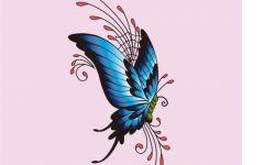 蝴蝶动漫图像