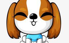 狗狗卡通图片