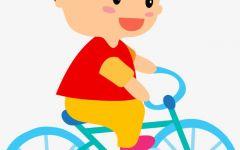 骑车图片卡通