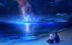 星空梦幻情侣图