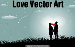 爱情背景图片