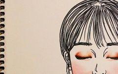 绘画头像女高清