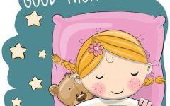 睡觉图片可爱卡通