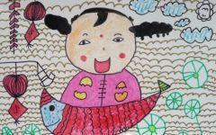 福娃儿童画