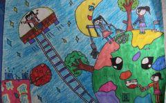 小学生环保画