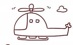 画简单的飞机