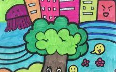 树的绘画幼儿