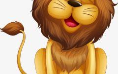 狮子卡通图案
