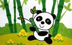 熊猫卡通图像