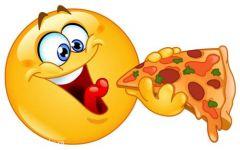 吃披萨图片卡通
