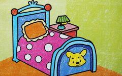床的卡通图画