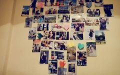 爱情空间照片墙图片