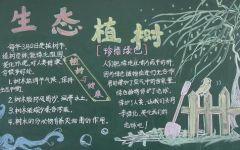 小学绿色环保黑板报