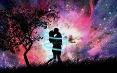 星空图片高清情侣