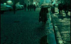 农村下雨图片伤感