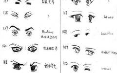 表情各种简化图