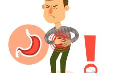 胃疼的表情图
