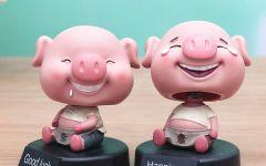 可爱鼻涕猪图片
