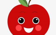 苹果图片可爱