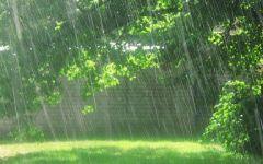 动漫雨景唯美图片