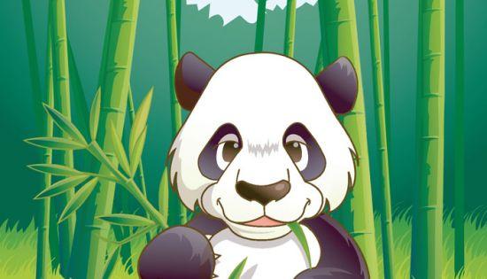 熊猫动漫图片