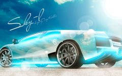 车唯美图片