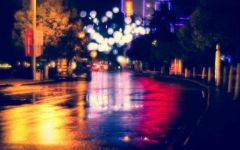 雨夜图片唯美