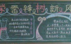 黑板报粉笔边框图案
