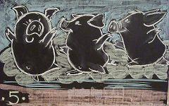 猪的黑板报