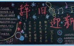 春节的黑板报