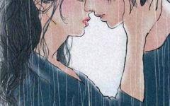 情侣日常插画