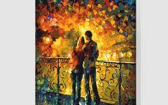 情侣手绘油画