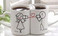 情侣杯子照片