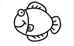 小鱼的简笔画大全
