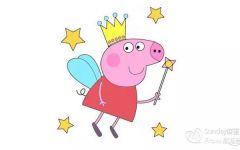 小猪的彩色简笔画