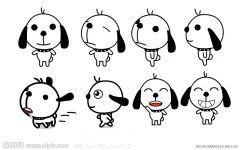 狗卡通图案