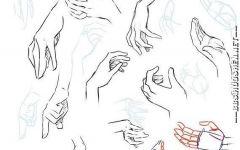 手的动漫图