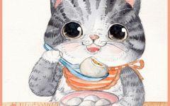 小猫可爱图画