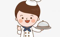 可爱厨师图案